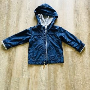 Carters Boys Blue Double Layered Jacket- Size 4T